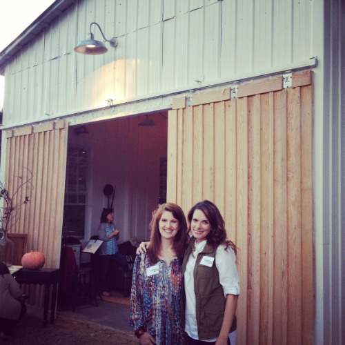 writers barn w Richella