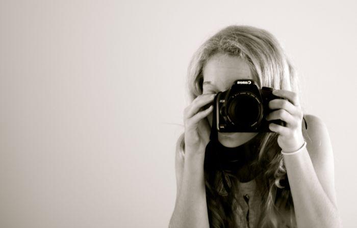 camera sekf portrait
