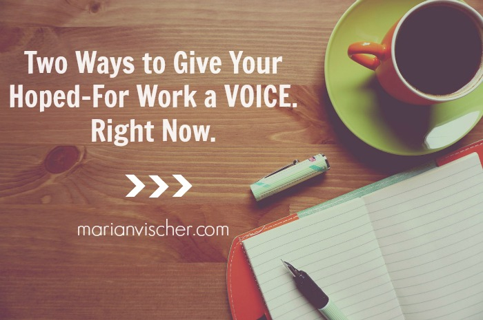 2 ways hoped for work voice