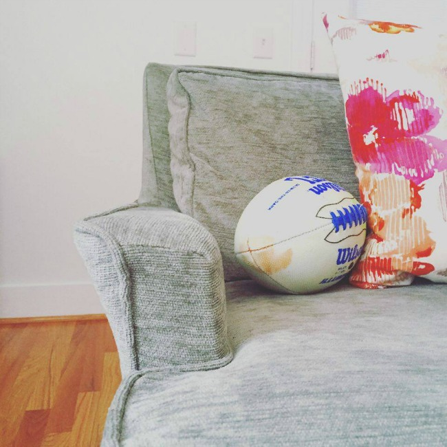 football throw pillows